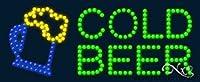Cold Beer Flashing &アニメーションLEDサイン( High Impact、エネルギー効率的な)