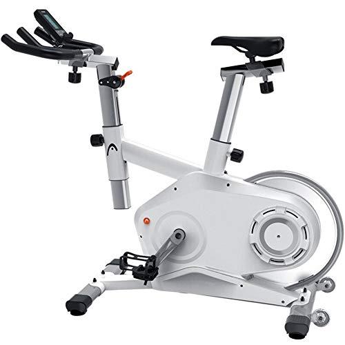 Nobuddy Bicicleta Estática De Spinning Fitness, Profesional Bicicleta Indoor, Bicicleta Indoor, Ajuste De Resistencia De Control Magnético De 5 Etapas, Volante Silencioso Trasero De 15 Kg, Lc