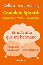 Complete Spanish Grammar Verbs Vocabulary: 3 Books in 1 (Collins Easy Learning)