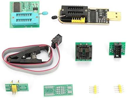 Dingln CH341A USB ProgrammerSOP8 Test Clip18V AdapterSOP8 Om DIP8 Converter Module