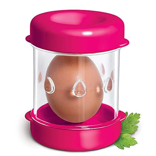 The Negg Boiled Egg Peeler - Fuchsia