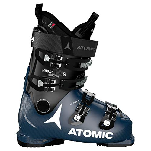Atomic Unisex HAWX Magna 110 S Ski-Stiefel, Black/Dark Blue, 45 EU