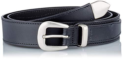 Levi's Femme Ranger Western Belt Cintura, Nero Regolare, 70 cm Donna