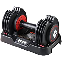 Ayeku Quickly Weights Adjustable Dumbbell from 5 to 25 LBs or 11 to 55 LBs (Single)
