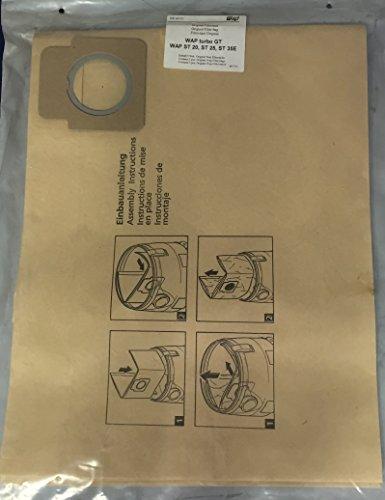 WAP NR46321 - Sachet de 5 Filtres Original WAP turbo GT/ST20/ST25/ST35E