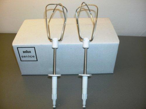 Braun Rührbesen Paar passend für Typ 4642, 4643, 4644, M700, M800 - Nr.: 67051155