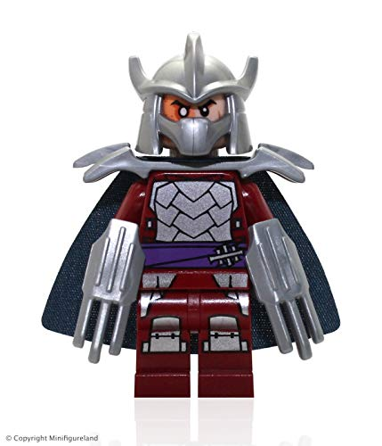 LEGO TMNT - SHREDDER Minifigure - Teenage Mutant Ninja Turtles