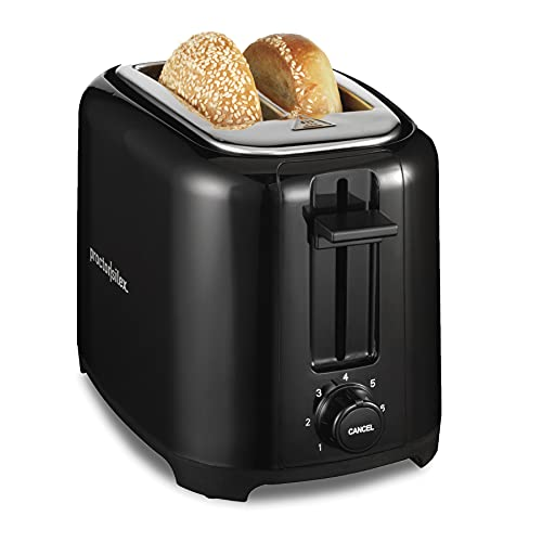 Proctor Silex 2-Slice Extra-Wide Slot Toaster with Cool...