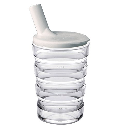 Maddak Sure Grip Cup with Lid, Clear (745910000)