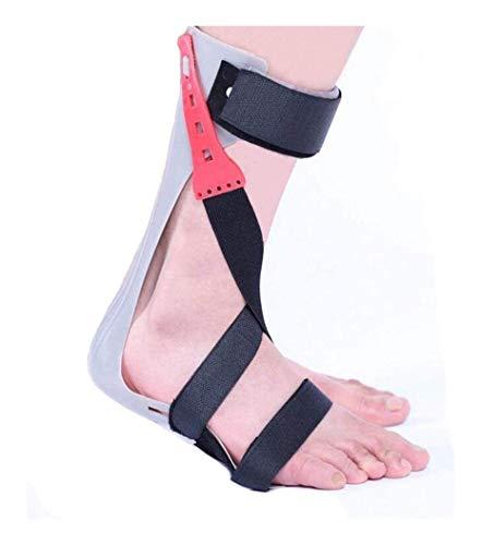 Férula de Soporte para pie caído para Fascitis Plantar, Soporte para ortesis de Tobillo y pie AFO Brace para Mejorar la Marcha al Caminar Previene calambres Esguinces de Tobillo 9.