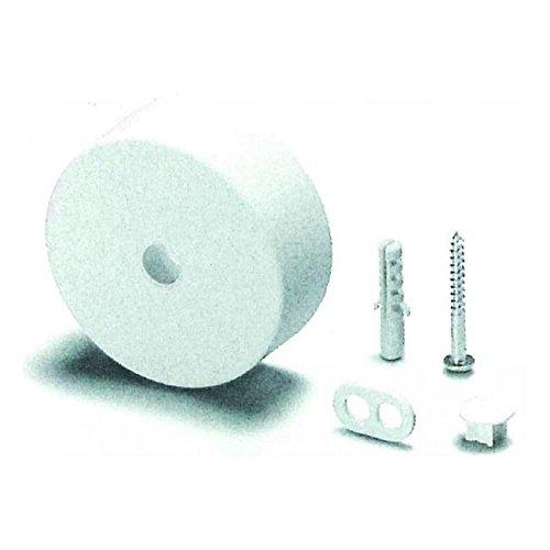 Houben Deckenverteiler 990121 Pressstoff, weiß Mechanisches Zubehör für Leuchten 4019768037049