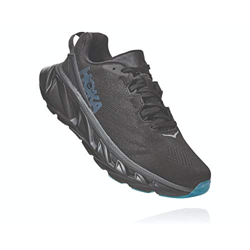 Hoka One 1106478-BDSD: Womens Black/Dark Shadow Elevon 2 Sneakers, Black/Dark Shadow, 9.5 B(M) US Women