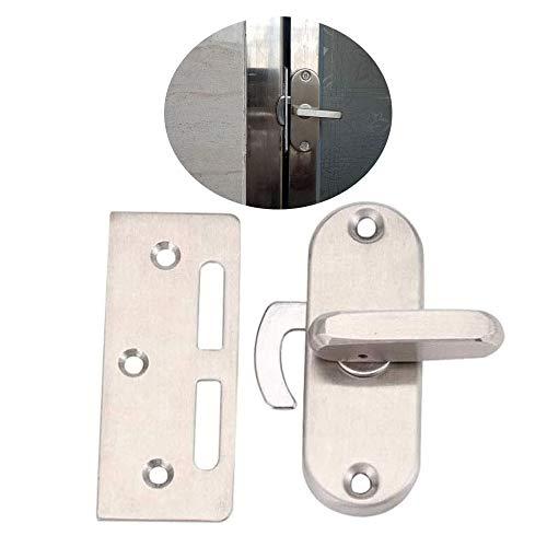 Cerradura de puerta corredera de granero de acero...