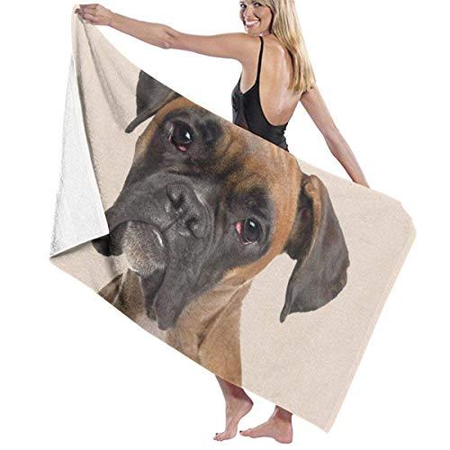 LREFON Toallas Perro marrón para la Ducha,Toallas de baño, Fitness, Deportes al Aire Libre
