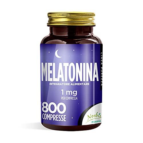 MELATONINA 1 MG - 800 COMPRESSE - FORNITURA DI LUNGA DURATA - 100% ALTA QUALITA'