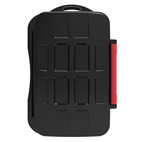 prasku SD XQD Nano TF Estuche para Tarjetas de Memoria Organizador Organizador Caja de Transporte Guardián a Prueba de Golpes