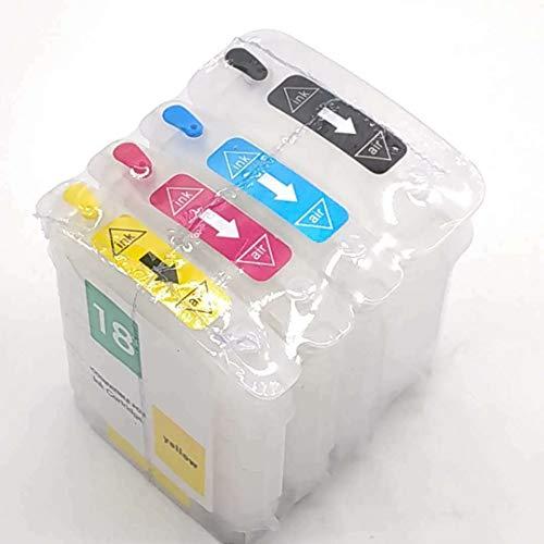 Cartuchos de tinta recargables para HP 88 88XL con chips de reinicio automático