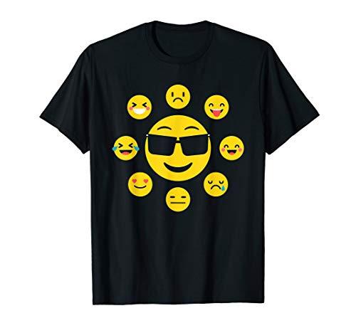 emoji wear Emoji Funny Heart Eyes birthday Emoji, Feelings T-Shirt