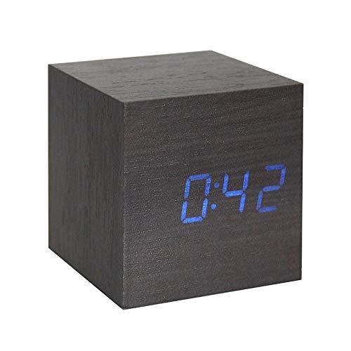 Despertador Digital Madera  marca Lancoon