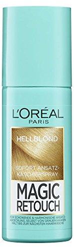 L'Oréal Paris Magic Retouch Ansatz-Kaschierspray Light Blonde, 2er Pack (2 x 75 ml)