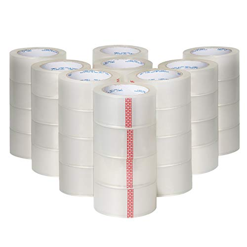 JARLINK Clear Packing Tape (36 Rolls), Heavy Duty Packaging Tape for Shipping Packaging Moving Sealing, 2.7mil Thick, 1.88 inches Wide, 60 Yards Per Roll, 2160 Total Yards