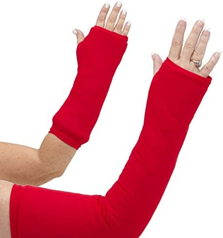 CastCoverz Designer Arm Cast Bombing free shipping Cover Financial sales sale - 21 Long: Real Medium Red