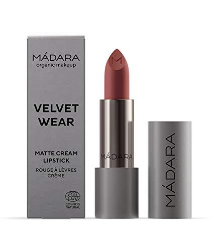 MÁDARA Organic Skincare | VELVET WEAR Matte Creme Lippenstift #32 WARM NUDE - 3.8g