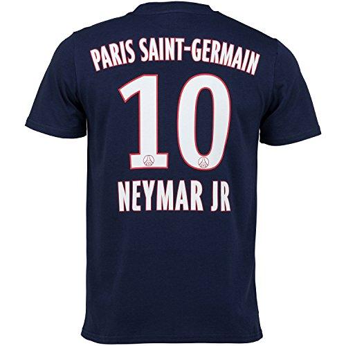 T-Shirt Paris Saint-Germain Neymar Jr, offizielle Kollektion, Erwachsenengröße, für Herren L blau