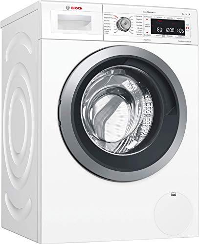 Bosch WAW285W5 Serie 8 Waschmaschine Frontlader / A+++ / 97 kWh/Jahr / 1381 UpM / 8 kg / Weiß / Fleckenautomatik / Trommelreinigung mit Erinnerungsfunktion