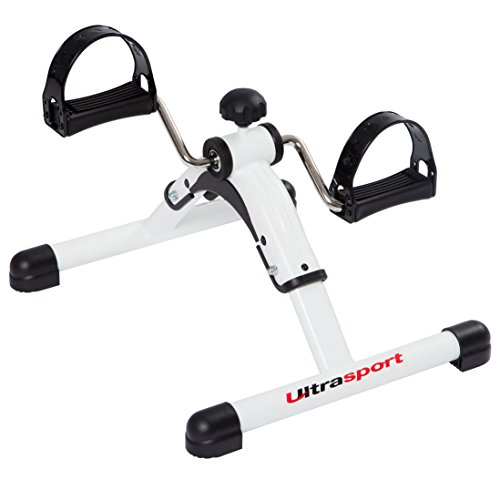 Ultrasport Mini Bike 2in1/3in1, Mini-Heimtrainer, Armtrainer und Beintrainer, Hometrainer, Pedaltrainer für Muskelaufbau, Ausdauertraining,Bike Heimtrainer, ideal für Senioren,leise und wartungsfrei