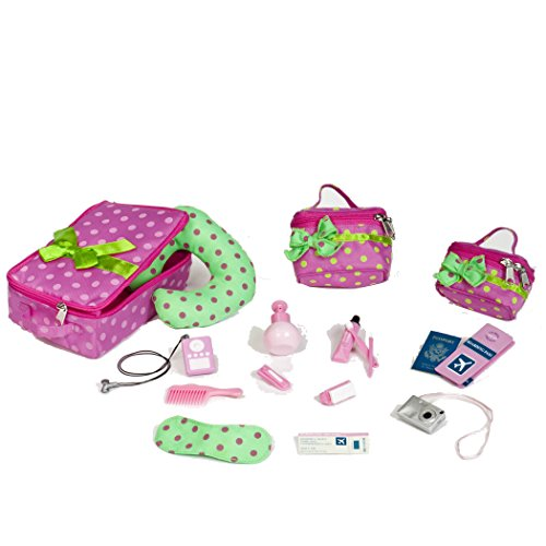 Kids Rooms Our Generation Luggage And Travel Set