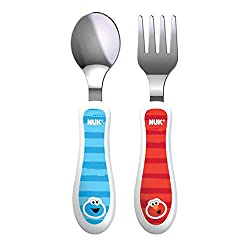Best Toddler utensil with matching spoon, fork, sippy cup, bowl and plate