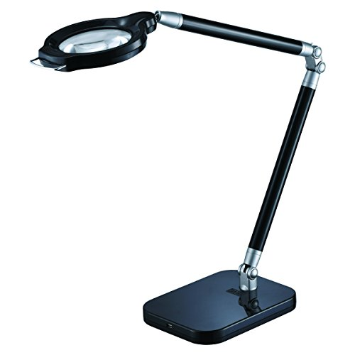 Black & Decker PureOptics Summit Zoom Magnifying Desk Lamp