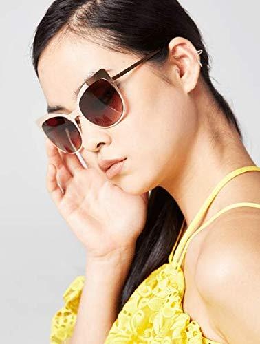 Skinnydip Scarlett - Gafas de sol de metal dorado