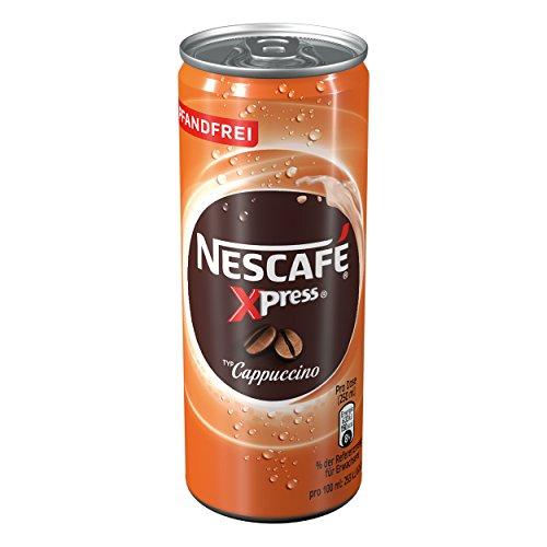 Nescafé Xpress Cappuccino, Café frappé, Frío, caffelatte, 250ml Lata
