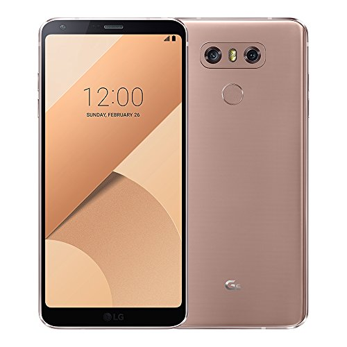 LG G6 H870DS 64GB Gold, 5.7', Dual Sim, 4GB RAM, GSM Unlocked International Model, No Warranty