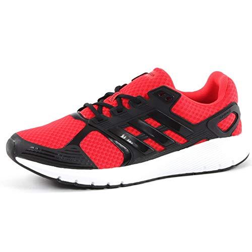 adidas Duramo 8 M, Zapatillas de Running para Hombre, Multicolor (Hi-Res Red/Core Black/Core Black 0), 42 2/3 EU