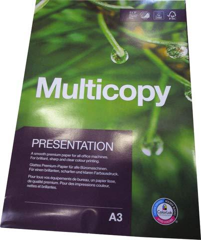 MultiCopy Multifunktionspapier Presentation, A3, 90 g/m², ECF, weiß
