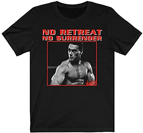 No #Retreat No Surrender Retro Movie T Shirt Gift Tee for Men Women Unisex T-Shirt Unisex T-Shirt (Black-4XL)