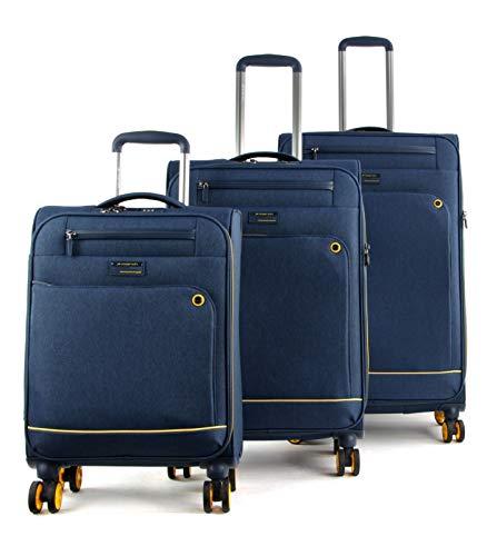 March15 Trading Shorttrack Suitcase 4 Wheels Set 3pcs.