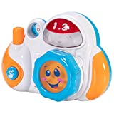 Fat Brain Toys FBT My First Camera - Click 'n Spin Action Camera Imaginative Play for Ages 1 to 3