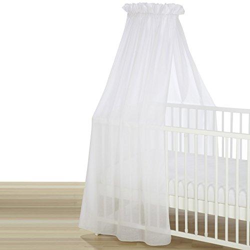 Alvi Himmel Voile für Kinderbett weiß 100-0