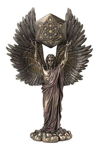 Veronese 708-7423 Erzengel Metatron bronziert Skulptur Statue Figur Engel Angel Figurine