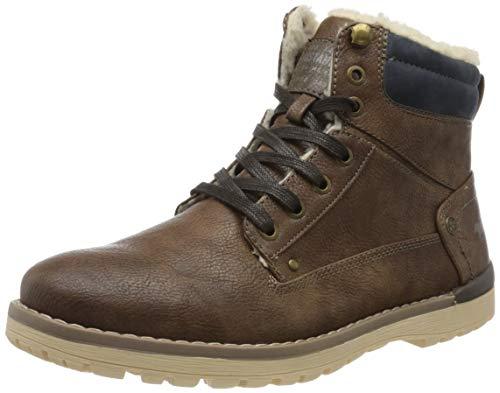MUSTANG Herren 4092-617-360 Klassische Stiefel, Braun (Mittelbraun 360), 41 EU
