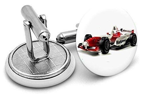 Boutons de manchette Boutons de manchette voiture de course F1, mariage,, Groom boutons de manchette