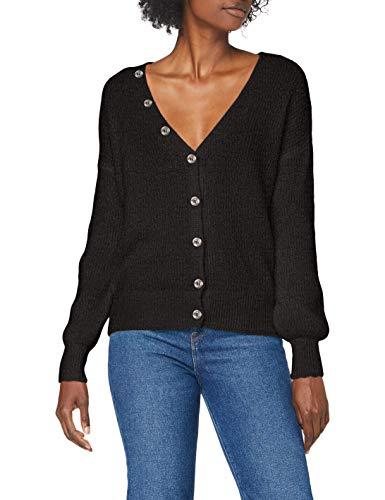 Sisley Women's L/S Cardigan Sweater, Print 75f, M
