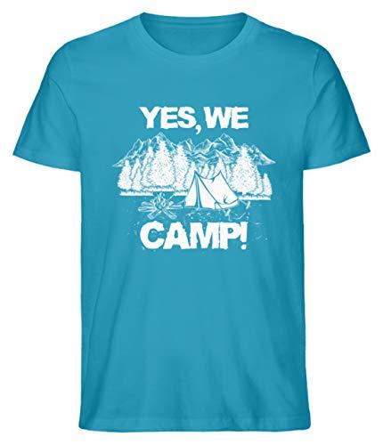 Camping: Yes we Camp - Herren Shirt -XL-