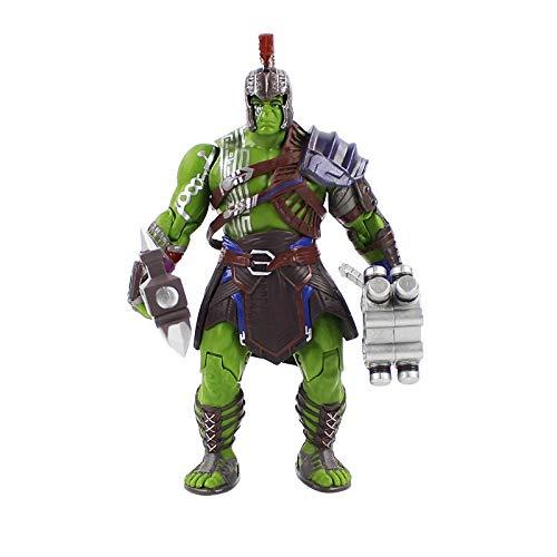 xingguang Figura de anime 21,5 cm Super Hero Thor 3 Ragnarok Martillo de guerra Hacha Gladiador Hulk BJD PVC Figura de acción coleccionable Modelo de juguete