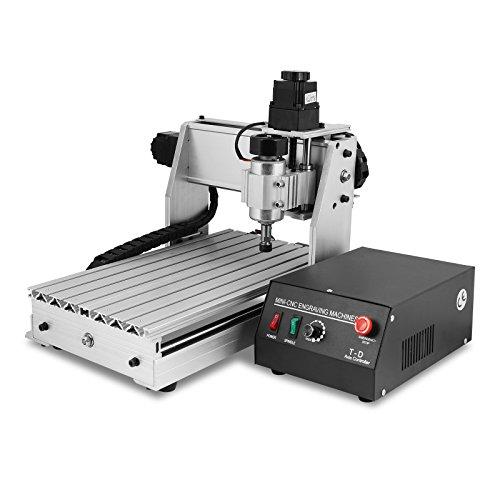 BuoQua Fräsmaschine CNC Graviermaschine 3040T Mit USB 3 Achsen Gravur Maschine 4MM Engraver Machine für Metall Glas Holz Stein