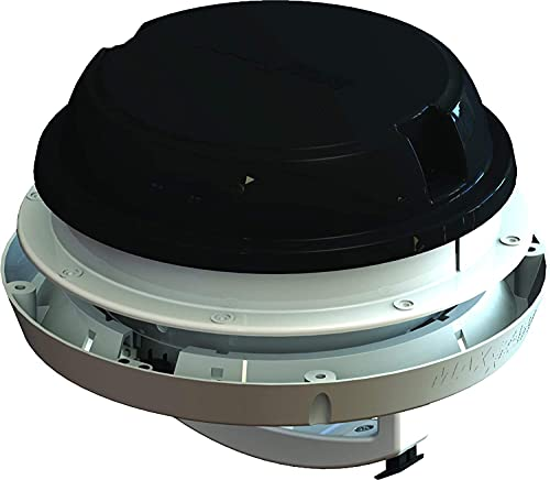 Schwarz LED Maxxair Maxxfan Dome Plus...